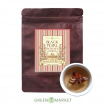 波光裡的黑珍珠-黑豆纖美茶  10入 (三角茶包)  紅棗、枸杞、黑豆