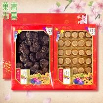 好事成雙禮盒(大) 埔里大香菇&日本干貝