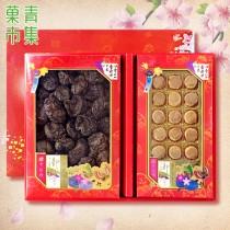 好事成雙禮盒(中) 埔里大香菇&日本干貝