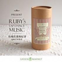 紅寶石踢踏舞曲-玫瑰紅棗枸杞茶  12入罐裝 (三角茶包)  紅棗、枸杞、玫瑰