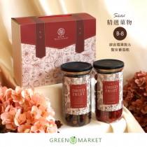 精選菓物-臺灣聖女番茄乾&綜合莓果 罐裝禮盒